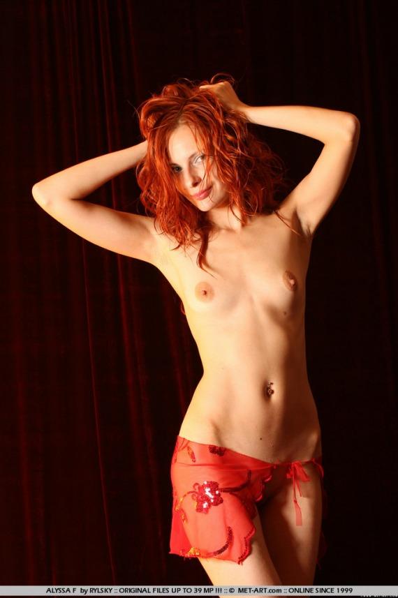 met art nude alyssa