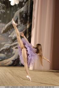 Jasmine A MetArt Ballet Rehearsal